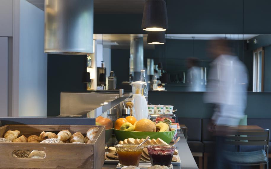 Hôtel Cabane - Petit déjeuner
