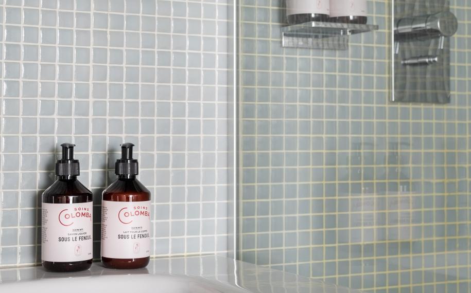 Hôtel Cabane - Salle de bain
